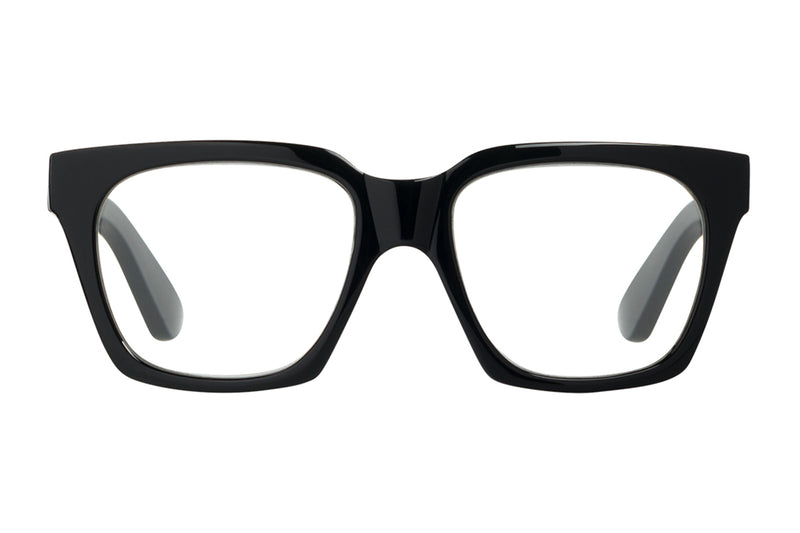 CINZA solid black Reading Glasses