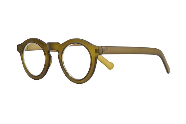 DANTE foggy olive green Reading Glasses