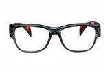 DONNA transparent dark grey-turtle brown Reading Glasses