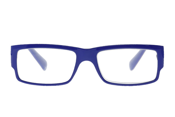 EMIL solid blue Reading Glasses