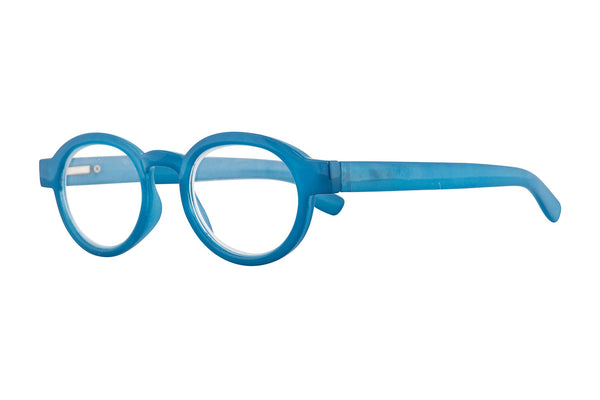EMY milky blue wood Reading Glasses