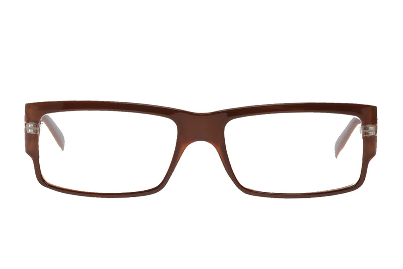 ERLAND dark brown Reading Glasses