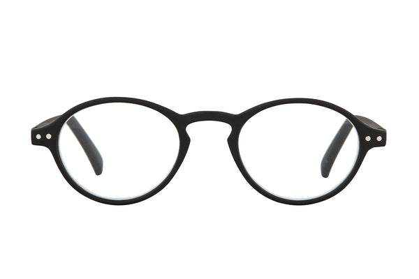 FRANZ Black rubber Reading Glasses