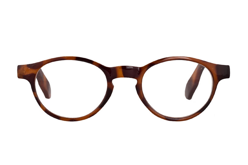 FREDRIK turtle brown Reading Glasses