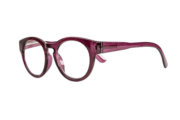 GEORGIA transparent purple Reading Glasses