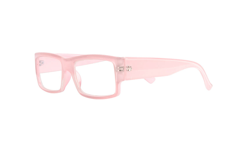 HELMER light pink Reading Glasses