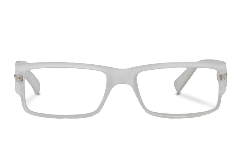 HUNT off-white Reading Glasses