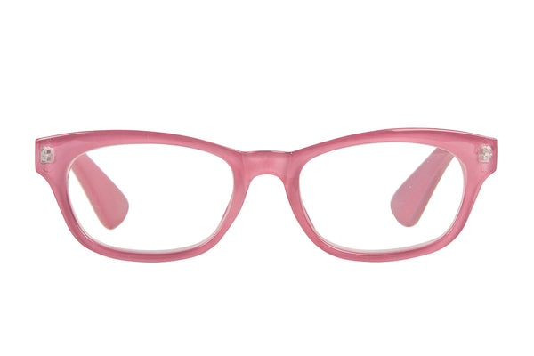IDA old pink Reading Glasses