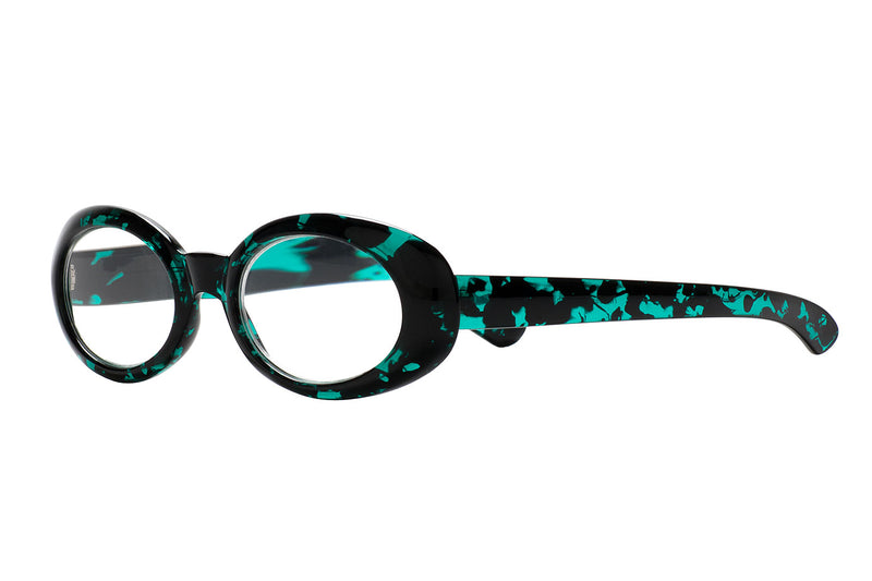 JADE foggy green Reading Glasses