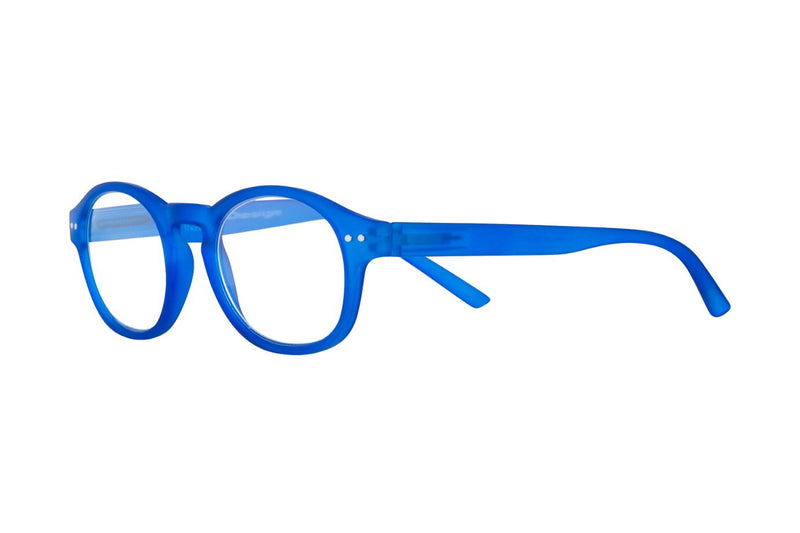 KALLE clearblue rubber Reading Glasses