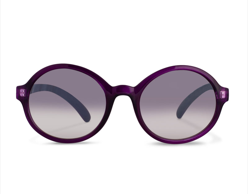 S-KIM purple metallic Sunglasses