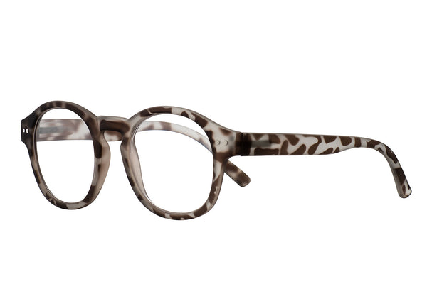 LEO demi mole rubber Reading Glasses
