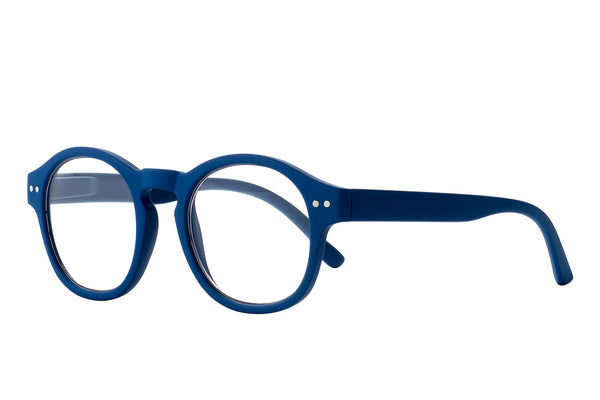 LOUIS blue rubber Reading Glasses