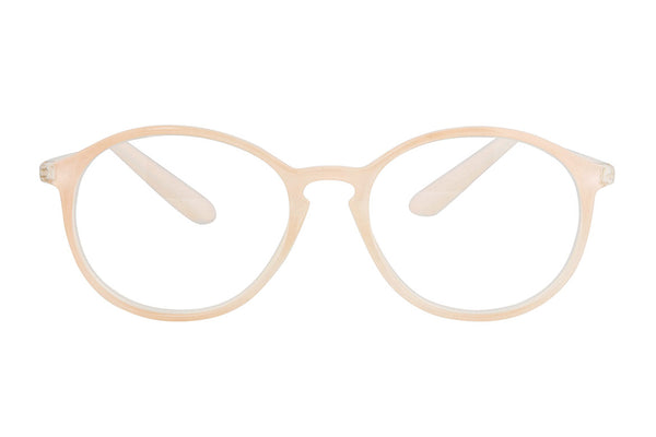 LOVA Transp. Soft pink Reading Glasses