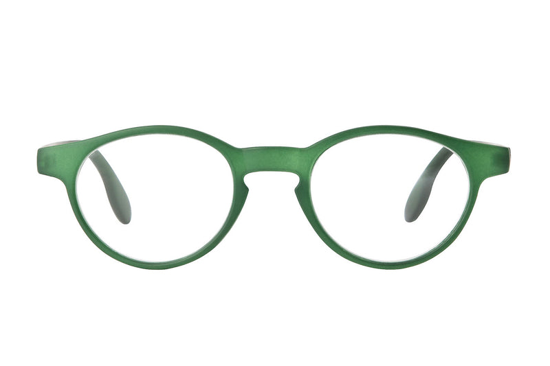 MALKOLM green foggy Reading Glasses