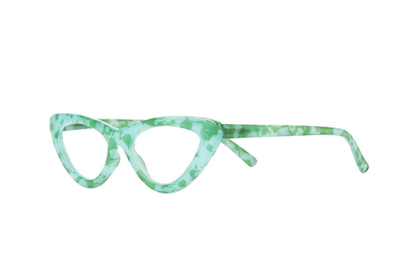 MAYA turquise green milky Reading Glasses