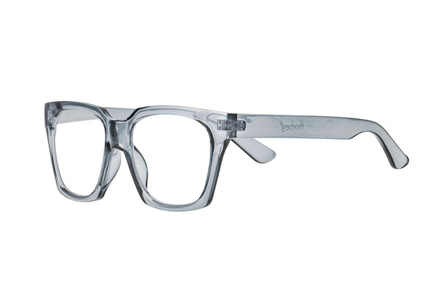 NELLY grey transp Reading Glasses