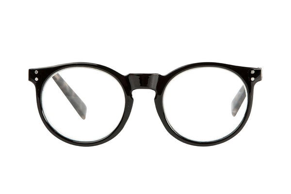 NIKI solid black-demi brown Reading Glasses