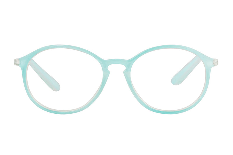 NORA Transp. Soft turquise Reading Glasses