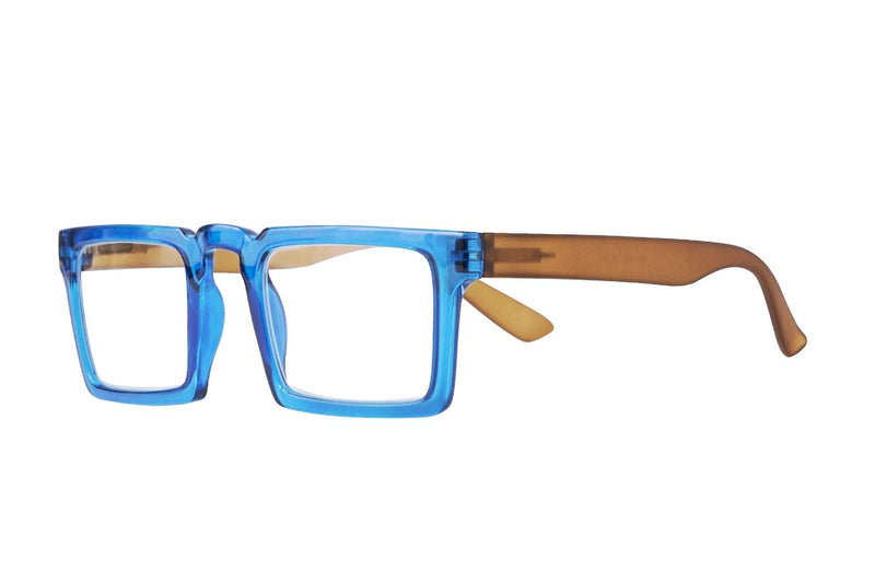 PIAGE blue transparent brown Reading Glasses