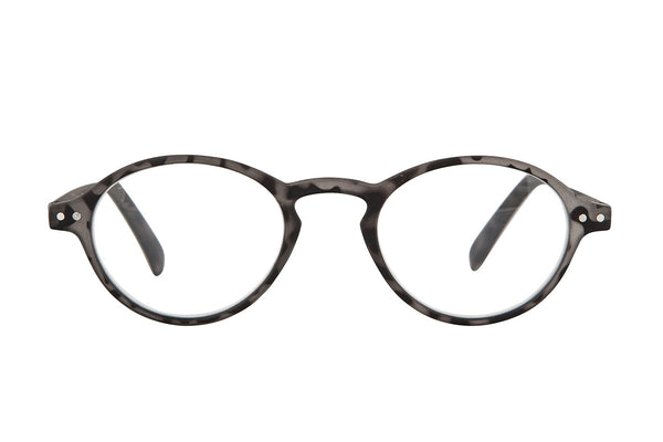 RUBY Grey rubber Reading Glasses