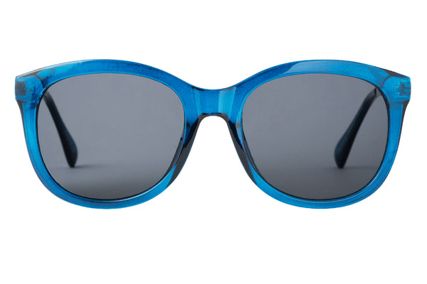 S-ALMA transp blue Sunglasses