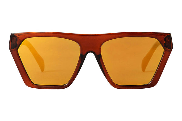 S-FRITZ brown transp Sunglasses