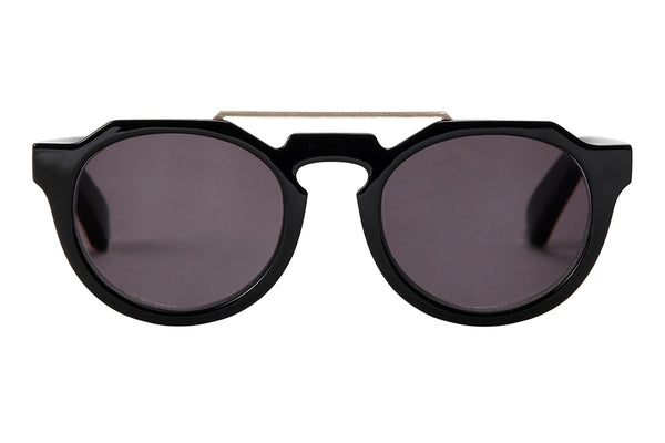 S-ISLA black solid Sunglasses
