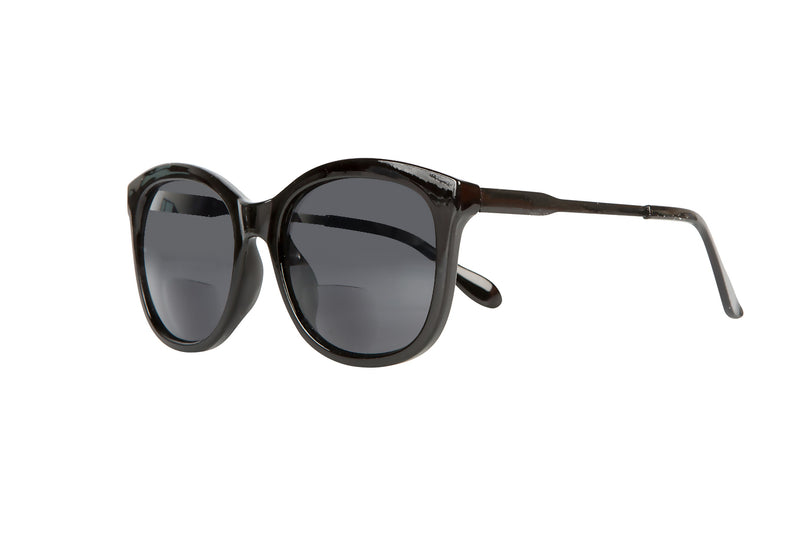 S-RONJA solid black Sunglasses