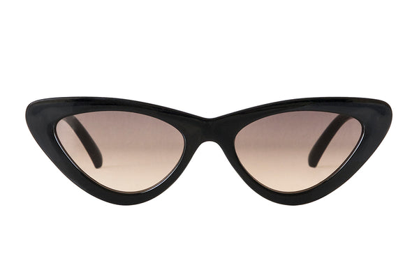S-SCARLETT black solid Sunglasses