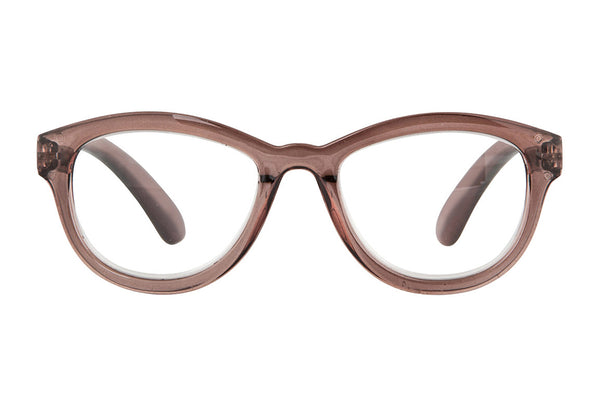 SILKE transp soft mole Reading Glasses
