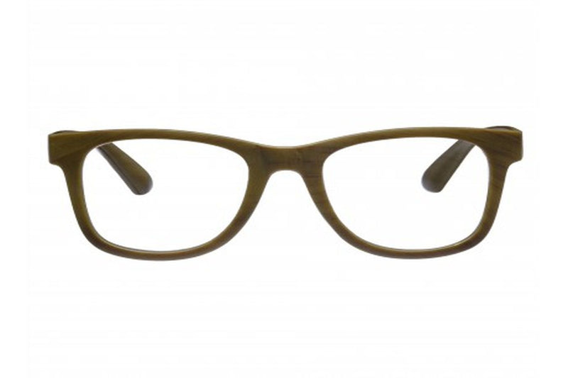 SONJA olive wood-look Reading Glasses