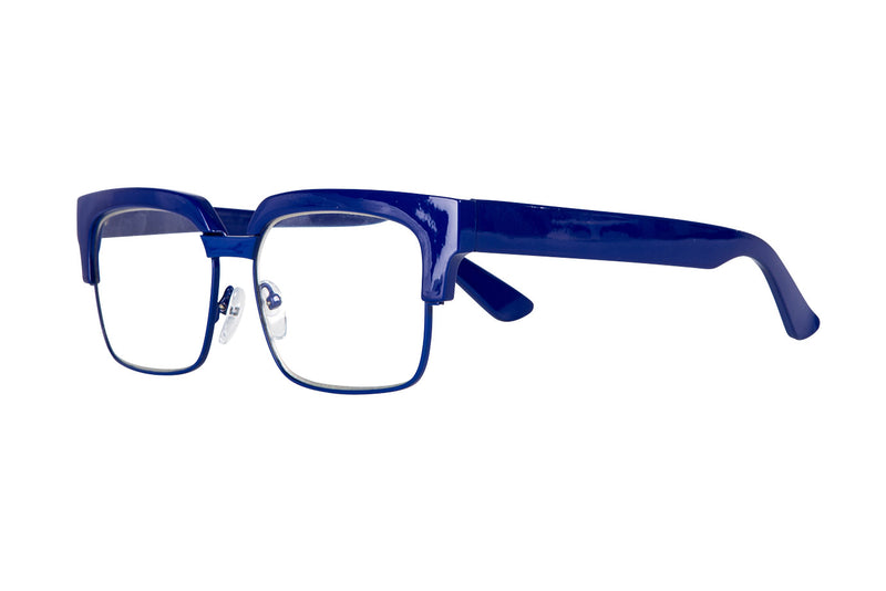 SUSSIE solid blue Reading Glasses