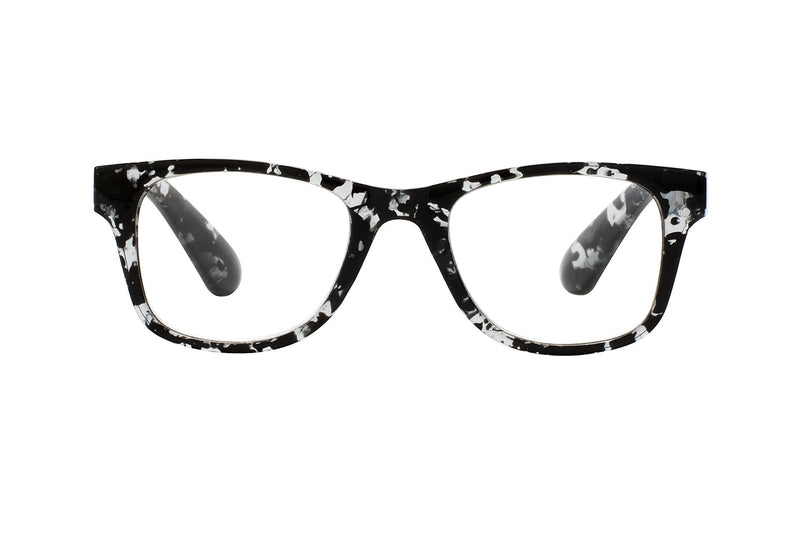 TESSA foggy grey-petrol Reading Glasses