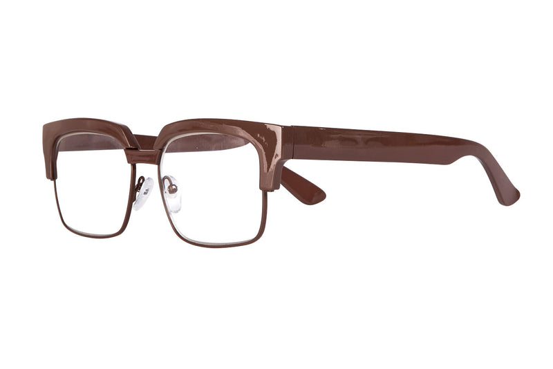 TRACY solid brown Reading Glasses