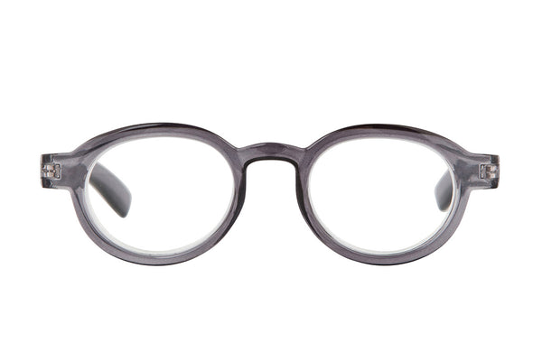 VILDA transp. Grey Reading Glasses
