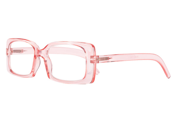 WILMA l. pink transparent Reading Glasses