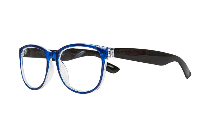 YURI marble blue Reading Glasses