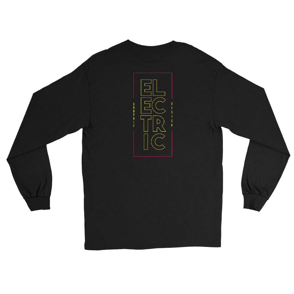 Electric Spine - Men's Long Sleeve Shirt