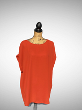 Load image into Gallery viewer, Rolled Sleeve Lightweight Top