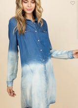 Load image into Gallery viewer, Denim Deep Dye Dress