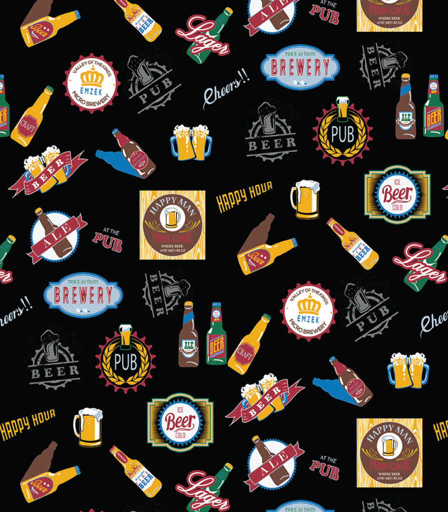 Beer Chef Apron  © Two Lumps of Sugar copyright print