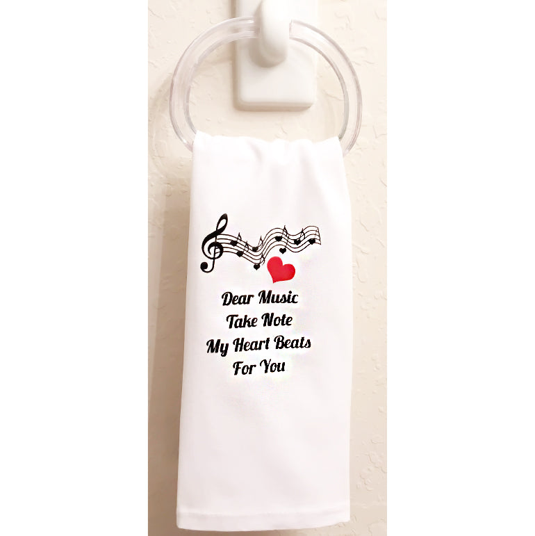 Dear Music Towel set of 3