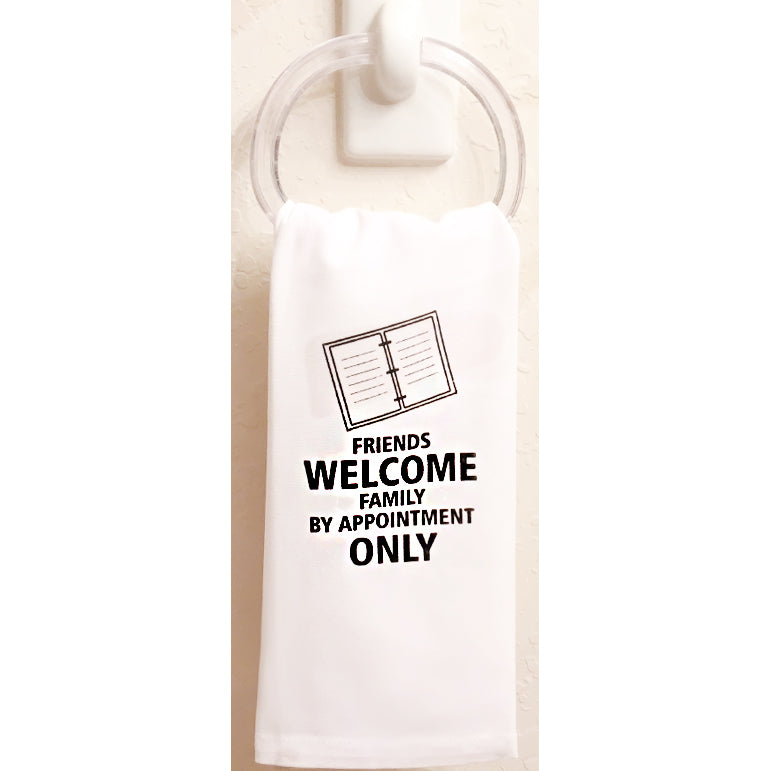 Friends Welcome Towel set of 3