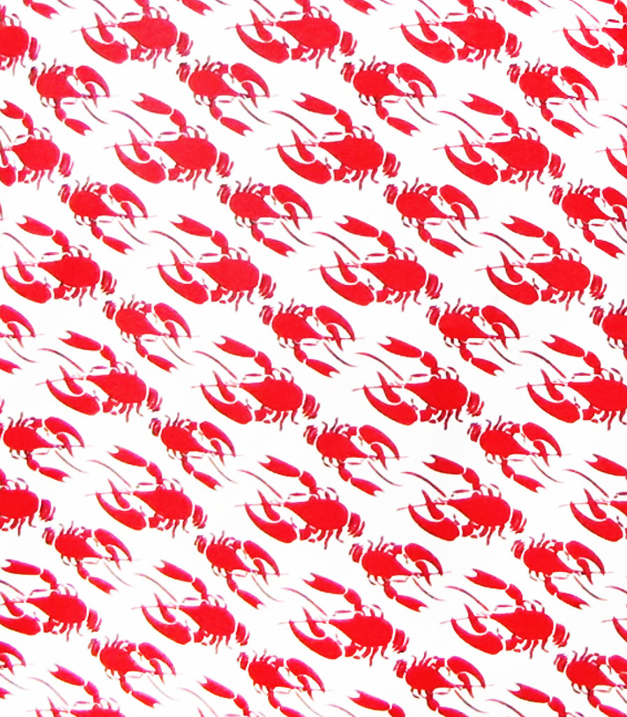 Los Lobsters Ruffle Apron © Two Lumps of Sugar copyright print