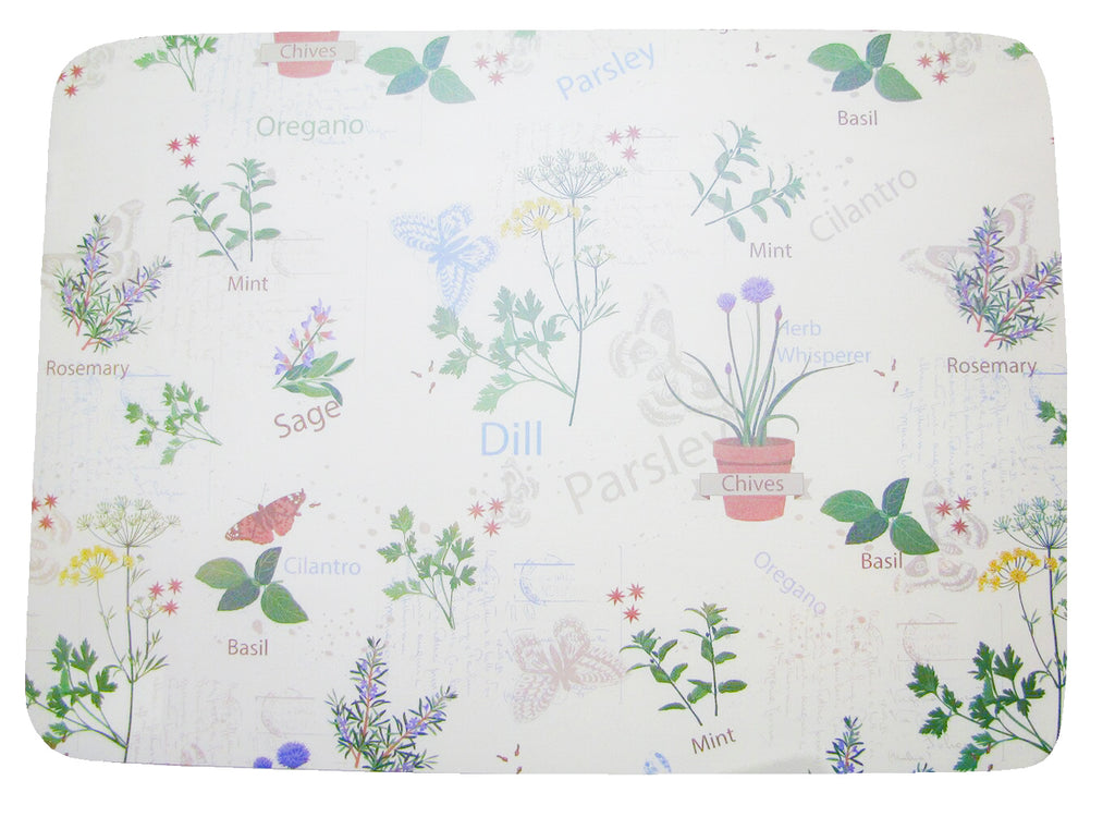 Herbs Set of 4 Placemats