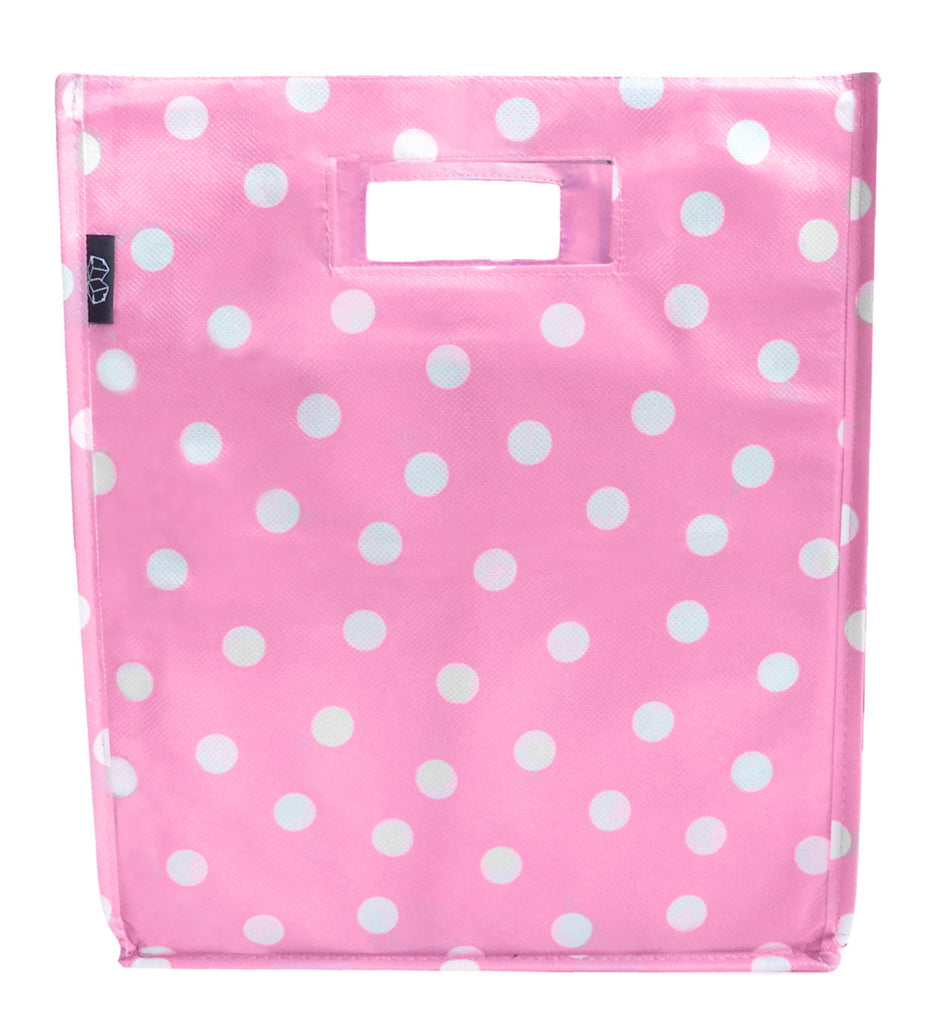 Polka Dot Pink White Mumper set of 2 for $20