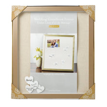 Load image into Gallery viewer, Modern Wedding Signature Pin Board Frame