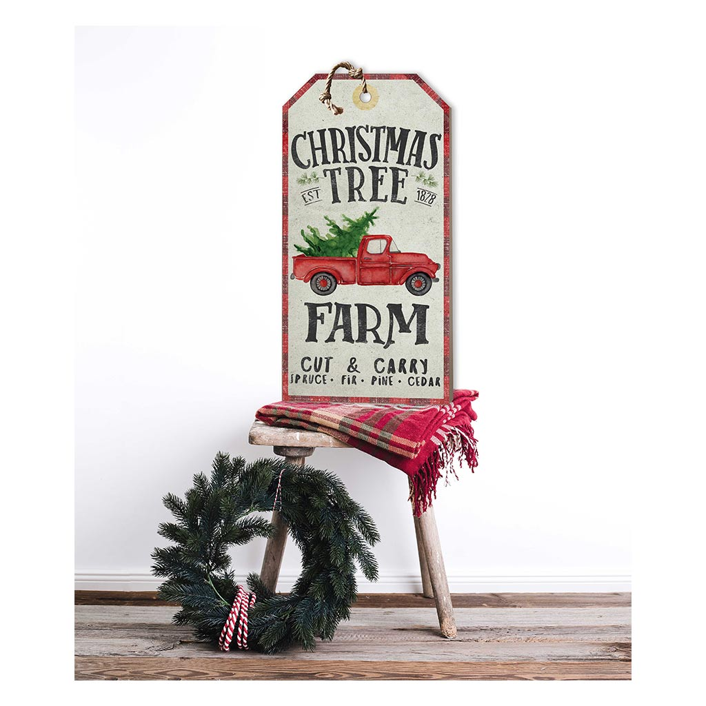 Christmas Tree Farm Tag Sign