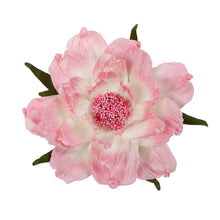 "Load image into Gallery viewer, Pink 15"" Artificial Faux Peony with Suction Cup"